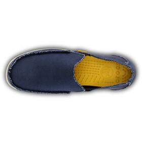 Crocs Santa Cruz Slip-On Hombre, navy/stucco